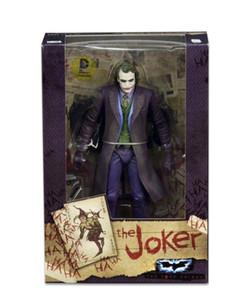 NECA DC Süper kahraman Batman Superman Joker PVC Action Figure Koleksiyon Model oyuncaklar 18 cm