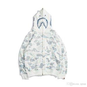 Новая осень зима любовник черный белый камуфляж печати свитер толстовки мужская мода камуфляж светящиеся случайные свитера топы