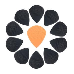 1000pcs JOYO Non-slip Black Guitar Picks For Electric Acoustic Guitar Bass Folk 1.4 Plastic Steel Material Anti Wear Durability Plectrum