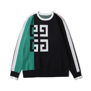 Black Sweater Men Fashion Long Sleeve Letter Print Couple Sweater Autumn Loose Pullover Women Free Shipping