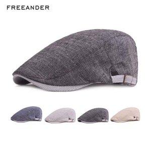 Freeander Erkekler Moda Bereliler Hat Kadınlar Moda İlkbahar Yaz Casual Düz Örme Şapka Brim Tasarımcı Siperlik Güneş Toplu Satış Toplu