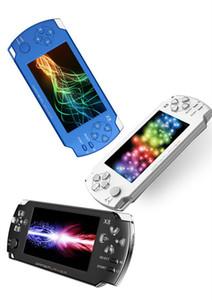 X8 4,3 pouces à écran tactile de 8 Go Console jeu portable avec E-book TV Out Handheld Plusieurs Classique Jeux Gratuits MP3 MP4 MP5 MQ05