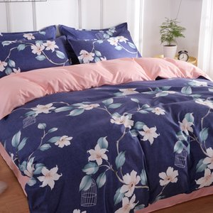 Luxury Bedding Sets Bed AB Side bedding sets 4Pcs Set Duvet Cover Set Queen Twin King Size Christmas gifts For Home