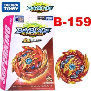 Бесплатная доставка Новый продукт Оригинальный TAKARA TOMY Beyblades BURST Booster B-159 Супер Hyperion.Xc 1A