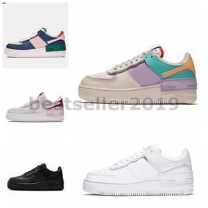 2020 WMNS 07 Utility caramella Macaron delle ragazze delle donne pattini correnti 1 Ombra Sport Dunnk uno bianco Sneakers Skateboard piattaforma nero 36-40