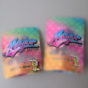 Новый размер крупных экзотов Лиги мешок 3.5 лавсановой запах доказательство герметичный мешок замка застежка-молнии доказательства ребенка для сухой травы упаковка