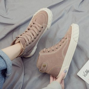 canvas shoes autumn and winter 2019 the new Korean version of winter students add velvet and thicker cotton shoes