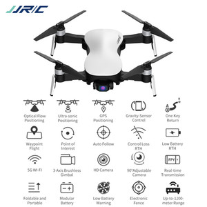 JJRC X12 avion RC Distance, 4K HD caméra WIFI FPV Drone, position GPS ultra-sonique UAV Trajectoire Flight, Auto Follow Quadcopter 3-2