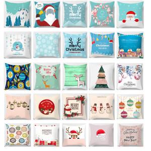 Decorazioni di Natale Copricuscino per Xmas Tree Snowman Santa Clause tiro cuscini Divano tiro cuscino copertina Home Decor HH9-2504
