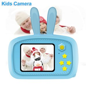 Kids Digital Camera HD Video Recorder Photo Camcorder Support 32GB TF Card 20 Million Pixels kid Gift For Baby Children Camera Free DHL