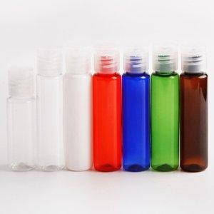 빠르고 쉬운 운송 30ML 모듬 색상 채우는 플라스틱 PET 병 샘플 병 뚜껑 병 플립