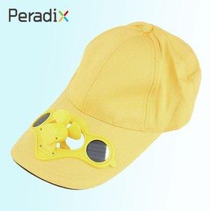 Multifuncional Sun Solar Power Golf Montanhismo Baseball Hat Cap Fan Toy Novelty