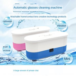 zA4NE Clean Watch glasses machine three-in-one small household contact cleaning glasses jewelry watch multifunctional ultrasonic cleaning d