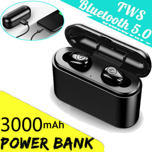 TWS X8s Auriculares inalámbricos Bluetooth 5.0 IPX7 Mini auriculares impermeables Auriculares gemelos Auriculares estéreo para iPhone Android