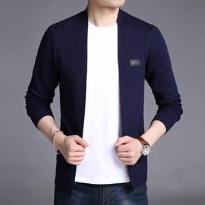2019 nuovo modo Windbreaker Jackets Mens Cardigan Trend High Street soprabito di tendenza Slim Fit cappotto casual Abbigliamento Uomo