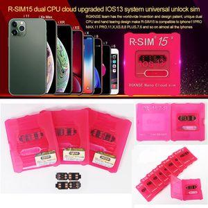 RSIM15 tarjeta desbloquear RSIM15 desbloqueo iOS13 RSIM 15 CPU Dual mejorada ios13 tarjeta de desbloqueo sim universal para iPhone 11 pro 8 más 7 6 xs xr max