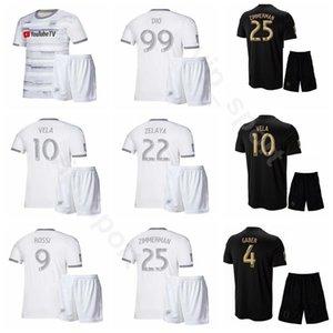 Los Angeles FC Soccer 20 Eduard Atuesta Jersey Set 19-20 LAFC 10 Carlos Vela 14 Mark-Anthony Kaye 99 Adama Diomande Kits de camisetas de fútbol