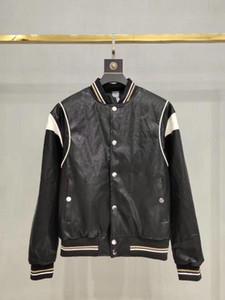 2020 sonbahar ve kış erkek lüks Hayvanın motifleri nakış mektup bombardıman yastıklı ceket erkek ceket ~ üstleri erkekler tasarımcı kaliteli jacke