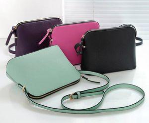 Brand Designer Women PU Leather Female Shoulder Bag Crossbody Shell Bags Totes Fashion Small Messenger Bag Handbags K US Brand