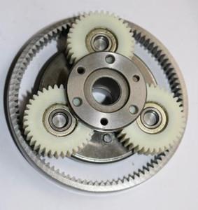 1 juego de engranajes 36T Diámetro: 38 mm Espesor: 12 mm de alta velocidad del vehículo de motor eléctrico engranaje de nylon + + anillo del engranaje del embrague