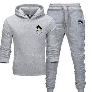 mens 2020 luxury designer clothes Brand men's sportswear fashion sports suit two-piece suit cotton hoodie joggers sets men tracksuit