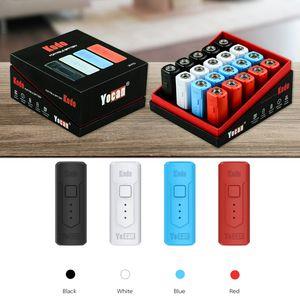100% Original Yocan Kodo Box Mod. Eingebaute 400mAh Vorwärm-VV-Batterie für 510 Flüssigölpatronen