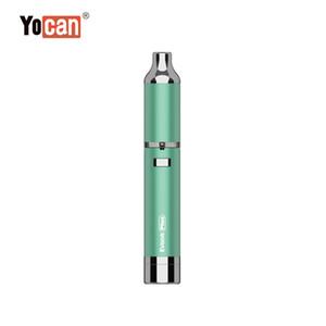 Original Yocan Evolve Plus Kit 1100mAh Battery Quartz Dual Coil QDC E Cigarette Kits All 6 Colors In stock smod vape dry herb