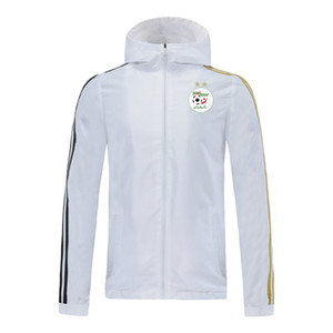 2020 algeria jacket hoodie Windbreaker tracksuits soccer jerseys Active windbreaker hoodies football sports winter coat Men's Jackets