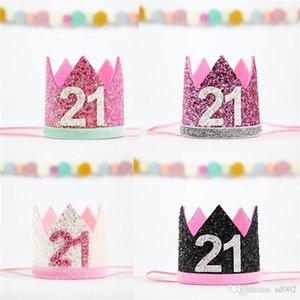 Bachelorette Party sposa Copricapo Principessa ereditaria della festa di compleanno ornamenti dei capelli Celebrazione Forniture copricapo dei capelli del cerchio Cute Fashion 5LC A1