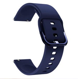 Pour montre Huawei GT GT2 2 GT 42mm 46mm montre Smart Watch 20mm bracelet silicone bracelet bracelets