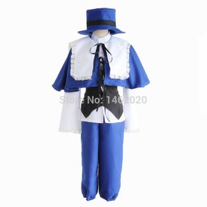 Rozen maiden Souseiseki Lapislazuli Stern Cosplay Costume Girls Blue Fancy Dress Women Halloween Cosplay Party Outfit