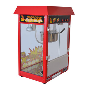 Ticari ETL CE elektrik patlamış mısır makinesi, otomatik patlamış mısır makinesi, büyük hacimli 8 oz serier ile büyük mısır popper makinesi