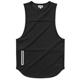 2019 Fitness Territory Men's Sports vest Manufacturer Summer new pure cotton waistcoat fitness clothing vest Gym