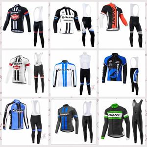 Гигантские велосипедные трикотажные изделия костюм с длинным рукавом Новое поступление MTB Bike Maillot ROPA Ciclismo Hombre Mens Велоспорт Одежда Велосипедная одежда Lzfoutdo