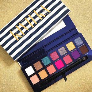 NEW Riviera Eyeshadow Palette Famosa Marca ANAS 'maquillage Marinha maquiagem Paletas 14 cores marca de maquiagem Frete grátis