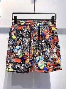 2.020 homens Short Pants Fashion Designer Mens Impressão Shorts Summer Beach Curto Calças de luxo Mens Designer Pants alta qualidade D2