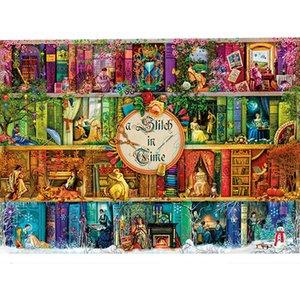 Puzzle Notizie per adulti 1.000 pezzi colorati giocattoli educativi prima infanzia giocattolo imparare regalo di Natale Y200421