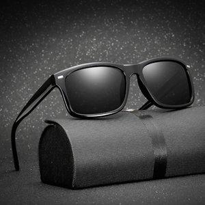Gafas polarizadas de lujo para hombres Conductor del coche Gafas de visión nocturna Gafas antideslumbrantes Polarizadoras Gafas de sol polarizadas para conducir
