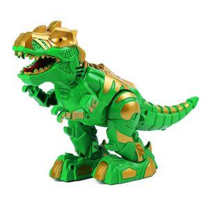 3 colori 26cm elettrico Walking combattimento dinosauro Sound Effect Light Special Meccanico dinosauro regalo dei bambini giocattolo LA311
