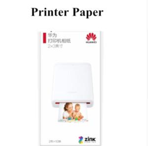 Tipo di Pocket Huawei originale Mini Photo Printer Zink tasca portatile stampante Bluetooth 4.1 AR Stampante 300dpi Supporto fai da te Condividi 500mAh CV80