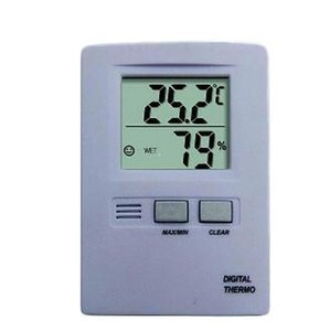 Wholesale-hot sales!New Digital LCD Display Temperature Humidity Thermometer and Hygrometer