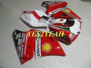 Kit de cuerpo de carenado de inyección para DUCATI 748 996 03 04 05 ducati 916 998 2003 2004 2005 Carenados carrocería + Regalos DD30
