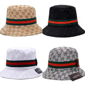2020 Comercio al por mayor de pesca de verano del sombrero del cubo del cubo de Boonie Protección Bob sombreros para el sol Pescador tapas de alta calidad sombreros plegables envío de la gota