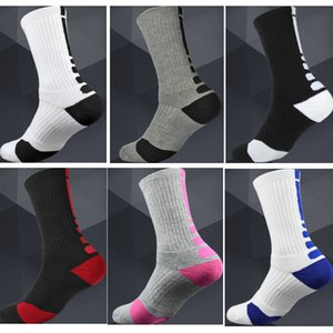 USA Professional Elite Basketball Socks Thick Long Knee Athletic Outdoor Sport Socks Men Compression Thermal Winter Warm Socks HH7-1991