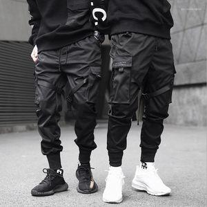 Herramientas tácticas pantalones Casual Jogger pantalones Primavera Verano moda pantalones adolescente lápiz pantalones para hombre funcional y