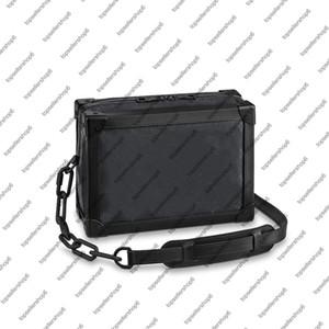 M44730 m55700 tronc doux hommes femmes boîte sac de messager sac de sac à main de la toile de cuir de luxe de luxe chaîne sac à main sacs à bandoulière