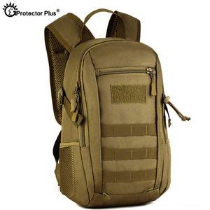 Protector Plus 12L Tactical MOLLE Backpack Crianças Caminhadas impermeável e Camping Camping Caminhadas mochila pequena school bolsas Crianças
