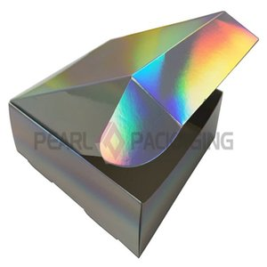 Holographic Gift Box for Party, Wedding Souvenir Box, 2 size available, 20pcs lot