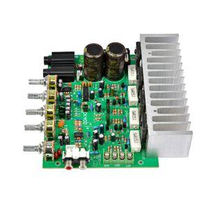 Ton Control ile AIYIMA 250W + 250W Ses Güç amplifikatörü Kurulu HIFI Stereo Amplifikasyon Dijital Reverb Güç Amplifikatör