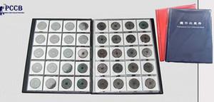 Pcc Slap-up de alta calidad poner 200 unidades / monedas álbum para los titulares de cartón en forma profesional Coin Collection Book Cheaper Q190531